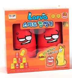 #NEW #TV #CARTOON #COMIC #SHOW #LARVA #CUP #RED 12 #SPEED #STACKS #STACKING #CUPS STACK SET 1SET  http://www.stylecolorful.com/new-tv-cartoon-comic-show-larva-cup-red-12-speed-stacks-stacking-cups-stack-set-1set/