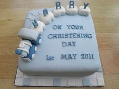 train and carriages christening cake cakeebakey | train and … | Flickr