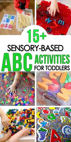 50 Alphabet Activities for Toddlers