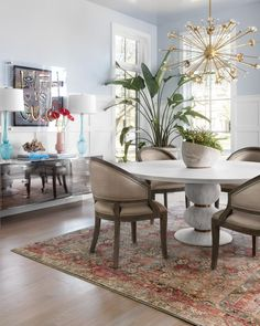Formal Living Rooms Dining Room Table