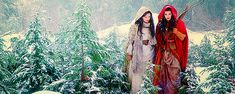 Snow and Red  #onceuponatime #gif