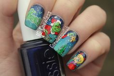 The Grinch nails by coewlesspolish