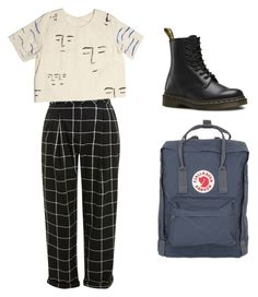 """Untitled #2"" by amala-ayyar on Polyvore featuring Topshop, Dr. Martens and Fjällräven"