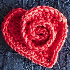 Rosy Heart - Free Pattern