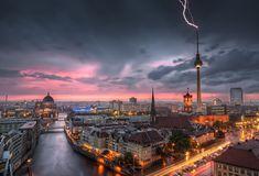 ღღ Thunderstorm at Alexanderplatz | Berlin, Germany - #Sumfinity HDR Photography
