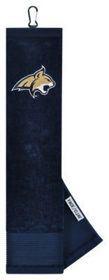 Team Effort NCAA Face/Club Embroidered Golf Towel - Montana State University
