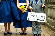 Sign Wood Wedding Signs Here Comes the Bride with Just Married OurHobbyToYourHome