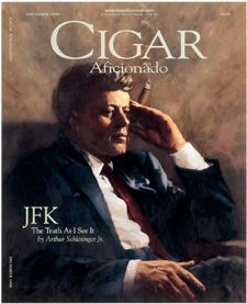 Cigar Aficionado President John F. Kennedy December 1998 edition