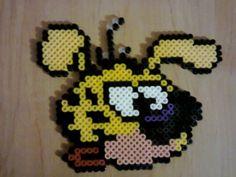 Marsupilami hama beads by nanane555