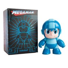 Mega Man 7-Inch Vinyl Figure This Mega Man 7-Inch Vinyl Figure features the eponymous video game hero in his classic form. He measures 7-inches tall.