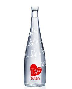 Evian por Diane von Furstenberg