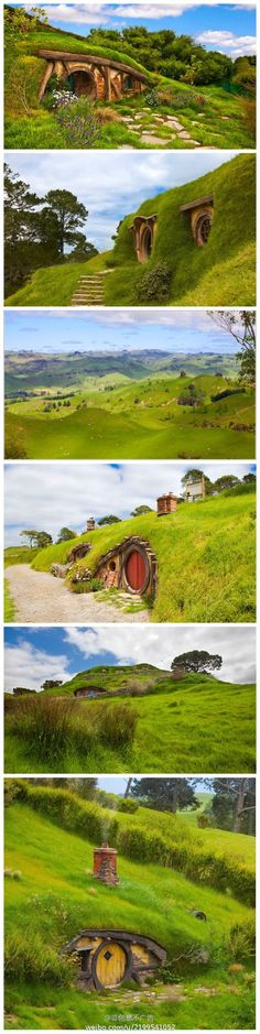 One Day I want to visit.... hobbit house new zeland