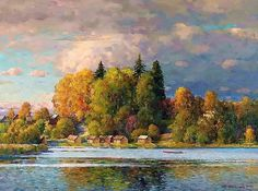 Очень русские картины художника Александра Шевелёва (публикация Виктора Беседина)