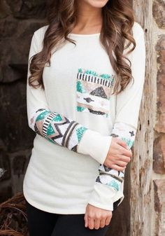 I like the southwestern design.. I would like the top as long as it was looser on the body.