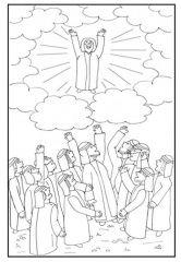 Christelijke Kleurplaten Discipelen 17 Beste Afbeeldingen Van Bijbel Hemelvaart Van Jezus
