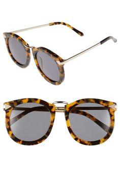 Karen Walker 'Super Lunar - Arrowed by Karen' 52mm Sunglasses available at #Nordstrom