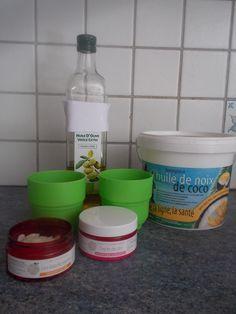 crème solaire faite maison½ tasse d'huile d'olive ¼ tasse d'huile de coco ¼ tasse de cire d'abeilles 2 cuillerées d'oxyde de zinc minéral (attention de ne pas l'inhaler)