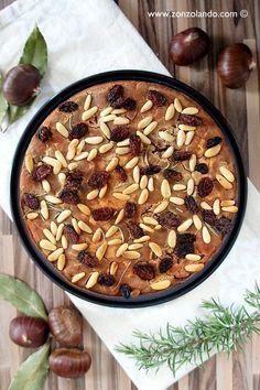 Castagnaccio - The typical Tuscany chestnut flour cake | From Zonzolando.com