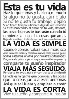 Sayings in Spanish. Learn about popular sayings and proverbs in Spanish Favorite Quotes, Best Quotes, Love Quotes, Happy Quotes, Quotes Quotes, Coaching, Motivational Quotes, Inspirational Quotes, This Is Your Life