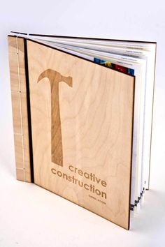 Creative Construction (concept book) by Daniel Moore, via Behance
