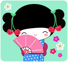 Cute Kokeshi Doll....--inspiration