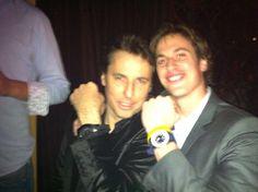 Jimmy D Methews with Jeroen Grasvald