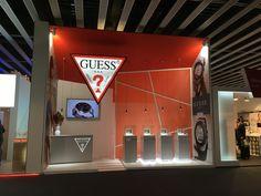 Guess #MWC 2016 #Technology http://contemporaneaeventi.com #Barcelona #Stand & Events #Design