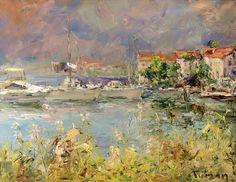Tuman Zhumabaev, 1962 ~ Impressionist painter