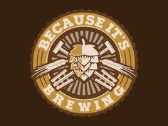 Nice #brewing #company logo design contest winner at Logo123.com