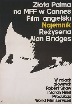 1974 Marek Freudenreich - The Hireling Polish Posters, Cannes, Film, Movie Posters, Movies, Movie, Film Stock, Films, Film Poster