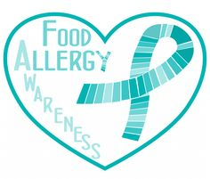 Food Allergy Awareness Week 2015 | Lil Allergy Advocates. Buy shirts, mugs totes and more with teal ribbons for Food Allergy Awareness! www.lilallergyadvocates.com