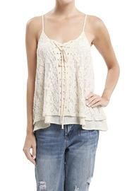 Layered Lace Tank Than Can Be Thrown On w/ Anything - Simple Summer