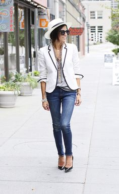 I need this entire outfit terribly, but especially that blazer!!