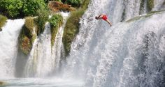 Hike, bike, climb, raft, kayak, zip-line or wild swim — there are many ways to explore the picturesque waterfall-studded mountains and river-rich national parks along Croatia's Dalmatian coast. Just don't expect to spend much time in dry clothes