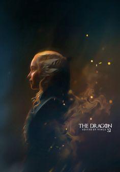 Daenerys Targaryen : The Dragon by ExoticGeneration21