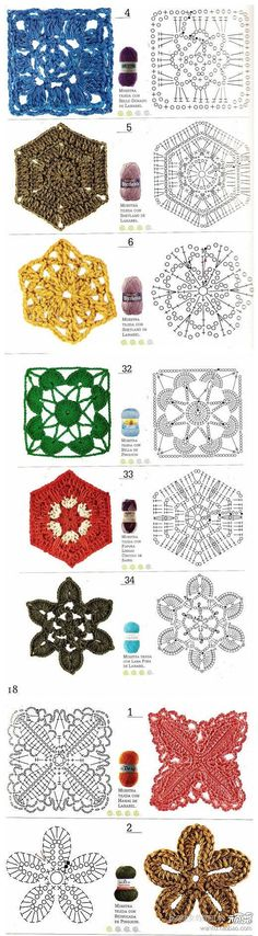 1000+ images about crochet on Pinterest   Tejido, Tejidos and Patrones