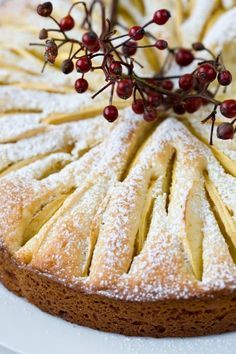 Tartine and Apron Strings: Apple Kuchen w/ Hot Cream Sauce from The French Laundry Apple Desserts, Apple Recipes, Just Desserts, Delicious Desserts, Dessert Recipes, Yummy Food, Apple Cakes, Cupcakes, Cupcake Cakes