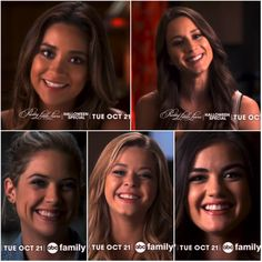 "PLL Halloween special promo. ~ ""we love you to deAth""."