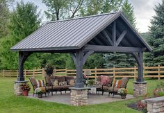 For those who appreciate old-world craftsmanship & construction, the alpine is the perfect pavilion for you! It is sure to inspire admiration when entertain