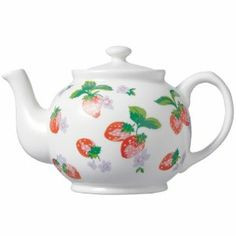 strawberry kitchen | cath kidston strawberry teapot