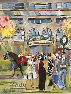 Derby Attire, Derby Horse, Run For The Roses, Derby Day, Limited Edition Prints, Frames On Wall, Kentucky Derby, Figure Painting, Framed Prints