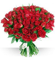 #Blumenstrauß der roten Rosen für spezielles jemand