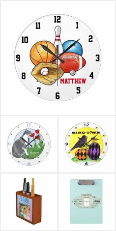 Tick tock...40% off watches & clocks ends at midnight | USE CODE: TICKTICKTOCK #clocks #classroomdecor #personalizedclocks Get Organized!