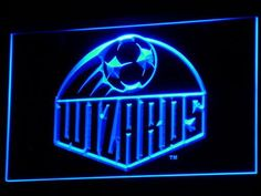 Kansas City Wizards LED Neon Sign - Legacy Edition