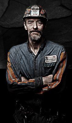 This is one of the traditions for a coal miner was going to the . Coal Miners, My Old Kentucky Home, Working Class, My Heritage, Portraits, Interesting Faces, West Virginia, American History, Work Wear