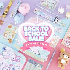📣 Kawaii-fy your school year with the cutest Back To School Deals! 🚌👩🏫 Save up to 50% OFF on pretty stationery, accessories, and more! ✨ Limited time & while stocks last! 🎀🎒📝 Back To School Deals, Twilight Movie, Kawaii Stationery, Aesthetic Art, My Room, Cool Stuff, Cute, Anime, Diy