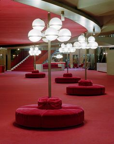 Foyer Of Teatro Regio Torino Theater Turin Designed By One My All Time Design Heroes Carlo Mollino In