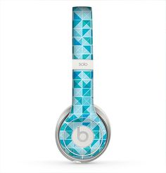 The Teal And White Seamless Morocan Pattern Skin for the Beats by Dre Solo 2 Headphones Pink Headphones, Best Headphones, Bluetooth Headphones, Beats By Dre, Iphone Accessories, Headset, Fun Stuff, Stuff To Buy, Teal