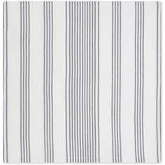 THE WHITE COMPANY Pembridge striped cotton napkins four pack ($32) ❤ liked on Polyvore featuring home, kitchen & dining, table linens, striped table linens, the white company, cotton table napkins, cotton table linens and striped napkins