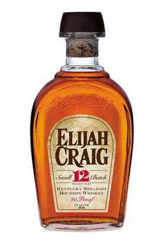 2. Elijah Craig 12 #whiskey #cheap #alcohol http://greatist.com/play/cheap-whiskey-taste-expensive